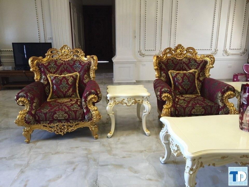 Bộ ghế tân cổ điển trong quá trình thiết kế