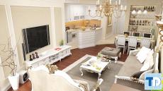Phong cách thiết kế nội thất cao cấp - AnhThắng khu chung cư Number one