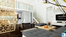 Ghé thăm nội thất nhà phố hiện đại thiết kế ấn tượng tại Điện Biên