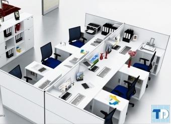 Tổng hợp mẫu thiết kế nội thất văn phòng cao cấp, đẹp và chất lượng