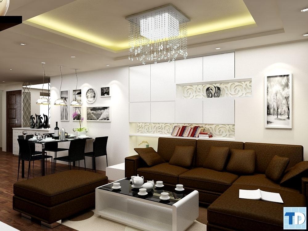 Phòng khách nhàChị Liênsố nhà 10 Ngõ 138 phố Giáp Bát