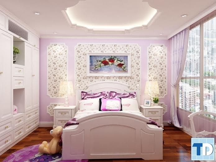 Phòng ngủ dành cho con nhỏ