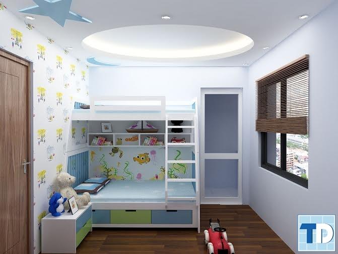 Phòng ngủ dành cho các bạnnhỏ