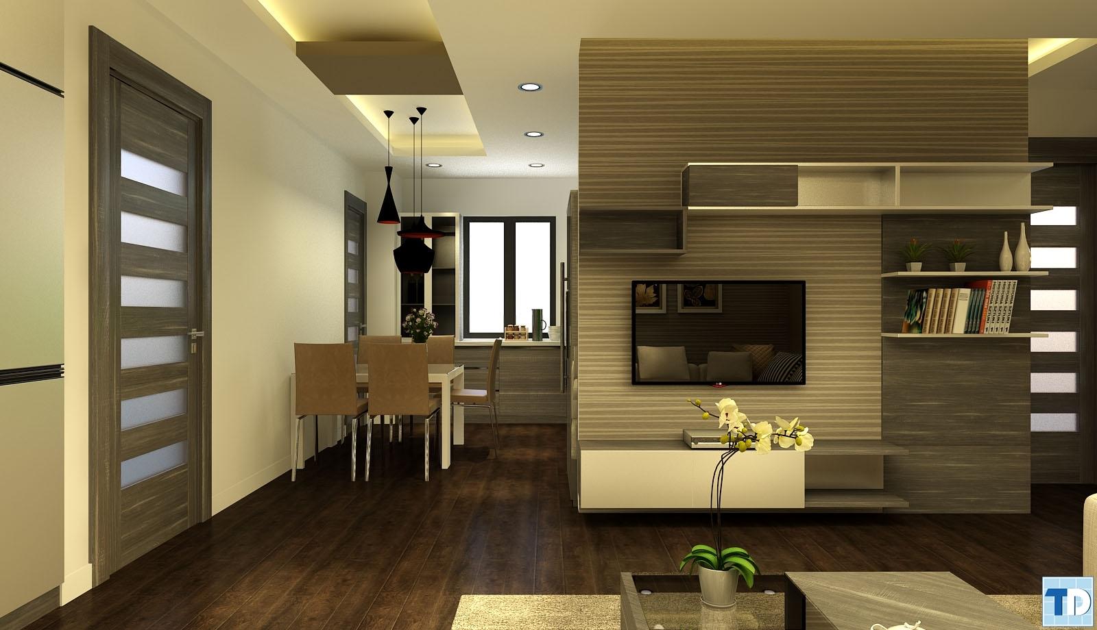 Phòng khách và bàn ăn