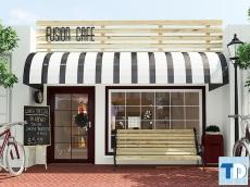 Khám phá phong cách thiết kế quán cafe ấn tượng, độc đáo