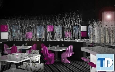 Thiết kế quán cafe với ýtưởng độc lạ, hấp dẫn