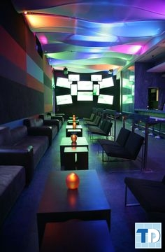 Phòng karaoke với thiết kế ghế tách rời