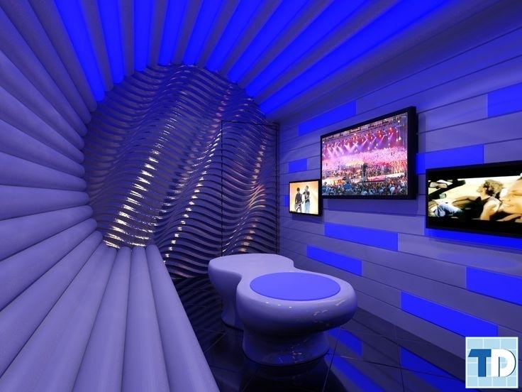 Phòng karaoke với thiết kế lạ mắt