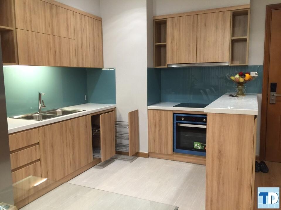 Nội thất bếp được thi công thiết kế ấn tượng đẹp mắt