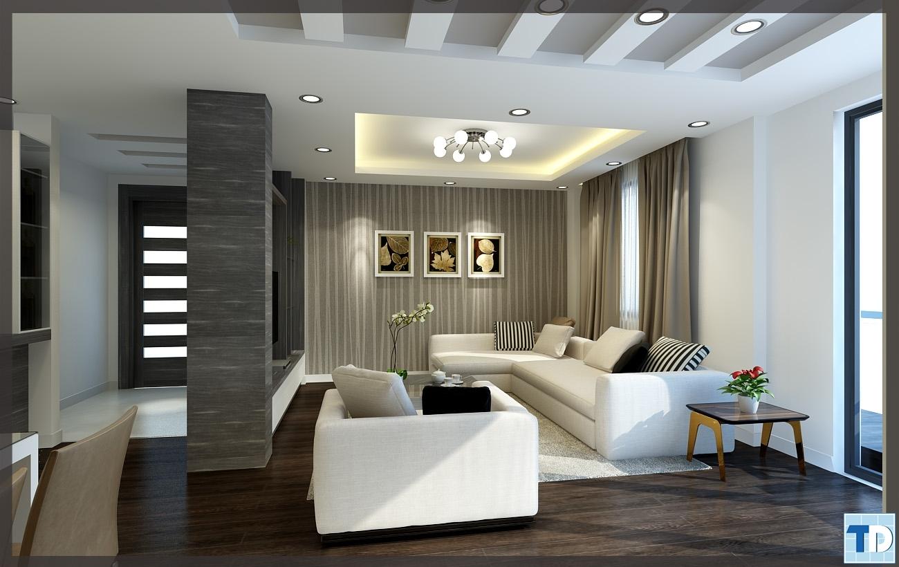 Gam xám lịch lãm, hiện đại trong thiết kế nội thất