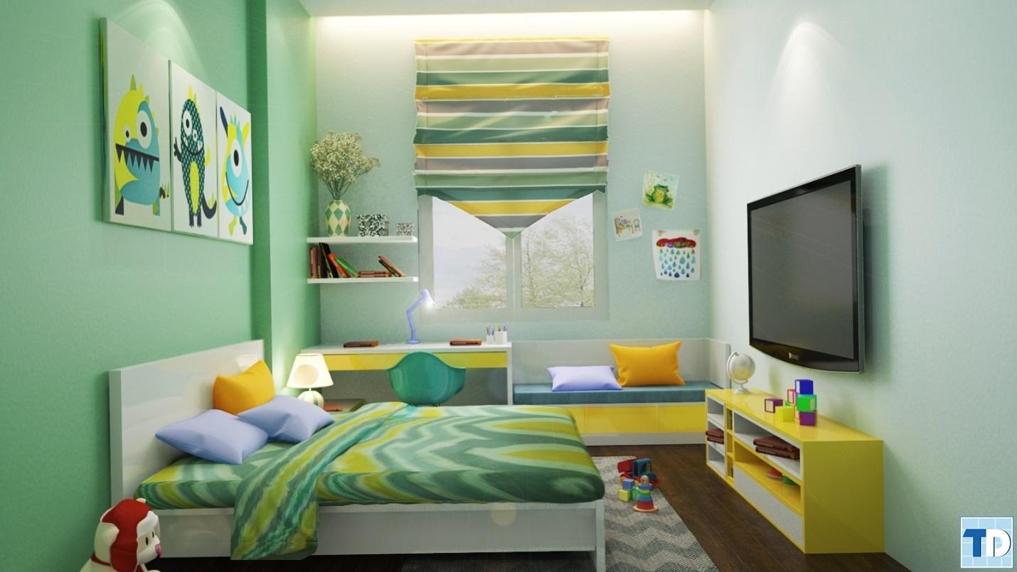 Ý tưởng trang trí phòng của bé