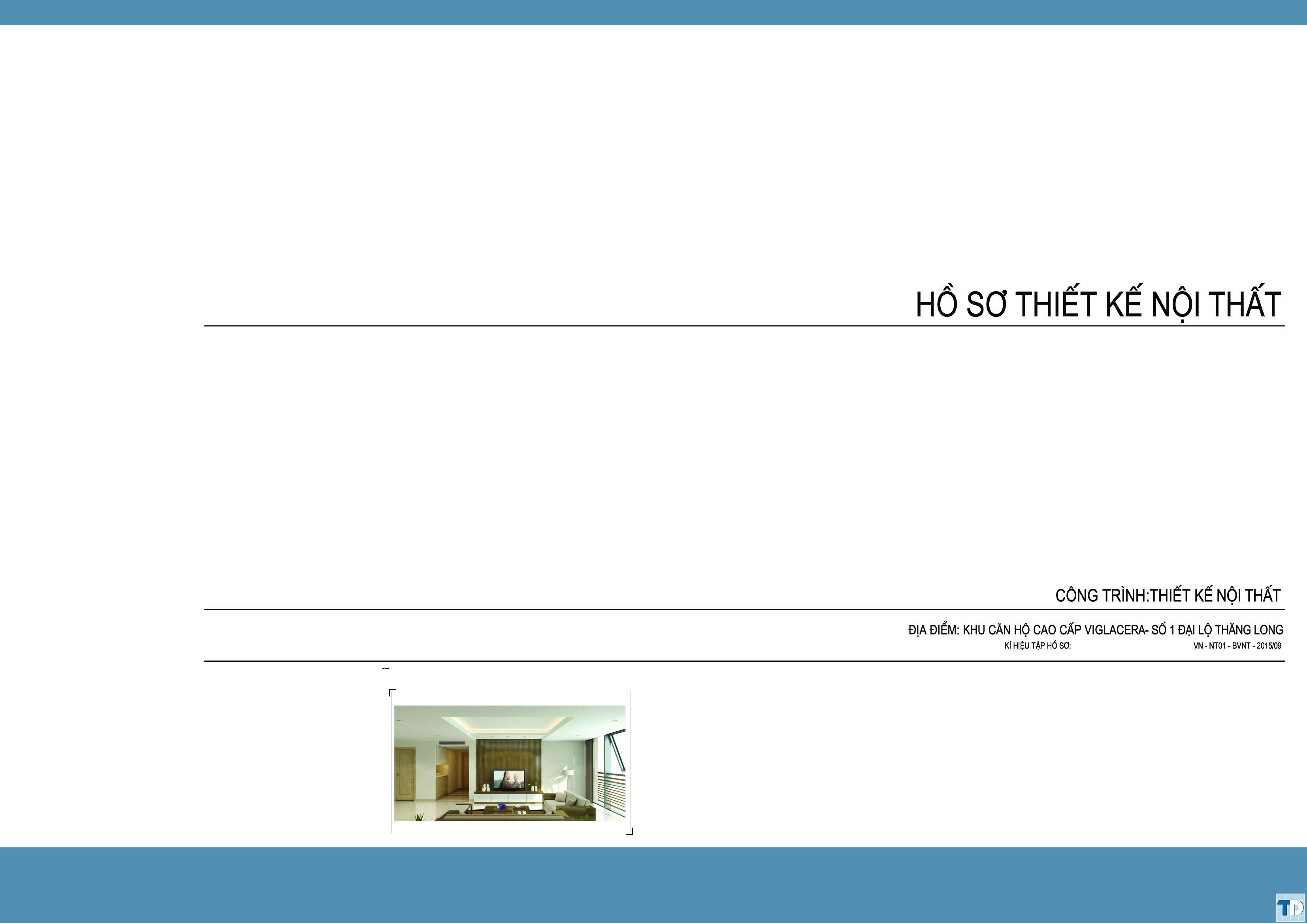 Hồ sơ thiết kế nội thất