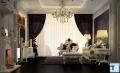 Phòng khách sang trọng với phong cách thiết kế nội thất Châu Âu