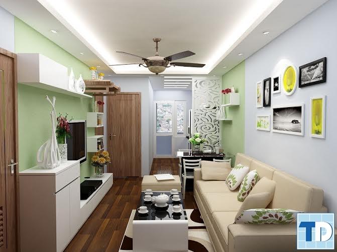 Nội thất chung cư mini diện tích nhỏ