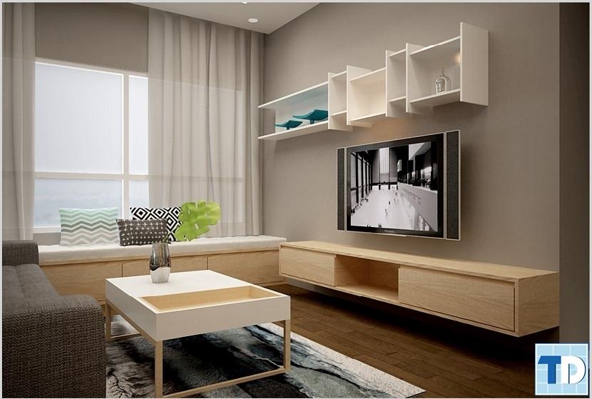 Thiết kế nội thất căn hộ chung cư độc đáo