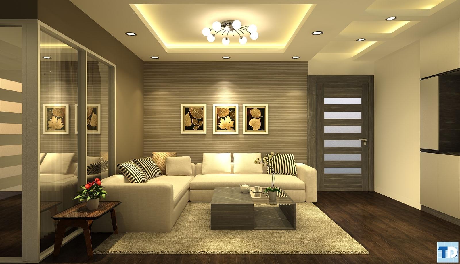 Thiết kế không gian lãng mạn, ấm cúng
