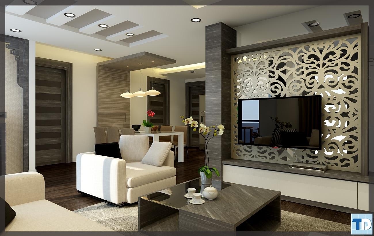Thiết kế tối giản tinh tế mang phong cách hiện đại