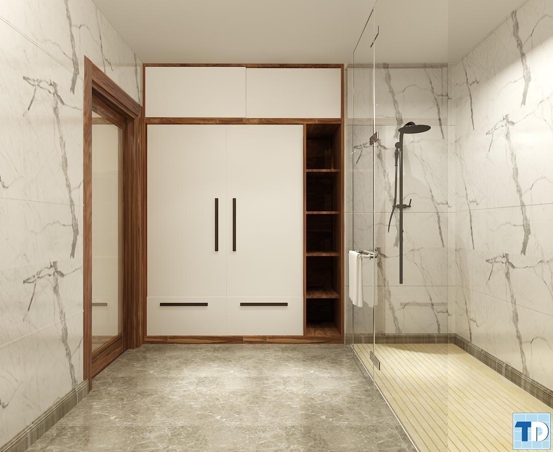 Phòng tắm đứng sang trọng