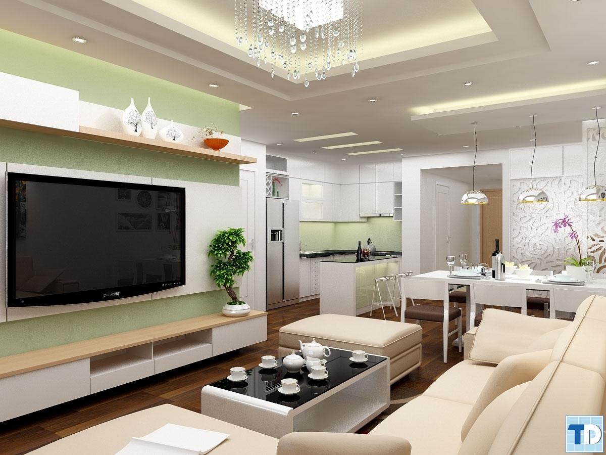 Màu trắng trang nhã với thiết kế hiện đại