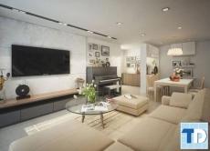 """Nét """"mộc"""" trong thiết kế nội thất chung cư nhỏ 45m2 đẹp hoàn hảo"""