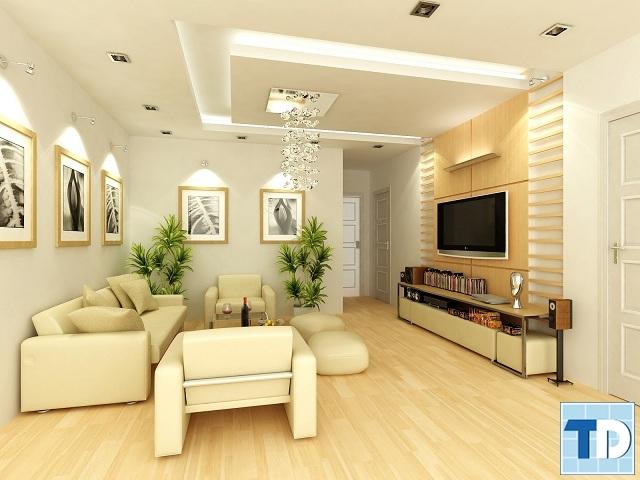 Không gian trang nhã với các món đồ nội thất cao cấp