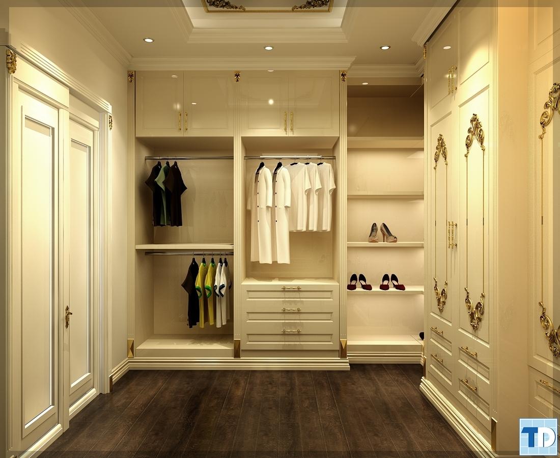 Tủ treo quần áo tiện lợi mà sang trong