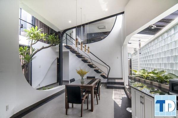 Không gian mở trong thiết kế nội nhà đẹp