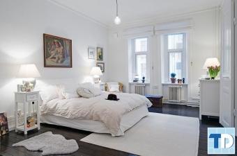 Một số phong cách thiết kế phòng ngủ cho căn hộ chung cư cao cấp