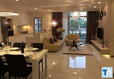 Không gian phòng khách, phòng bếp phòng ăn
