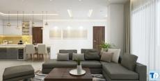 Thiết kế nội thất chung cư 90m2 – đẳng cấp cho cuộc sống thăng hoa