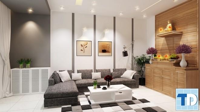 Mẫu nội thất đơn giản, lịch lãm