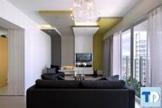Mẫu thiết kế nội thất căn hộ chung cư 100m2 lịch lãm lôi cuốn