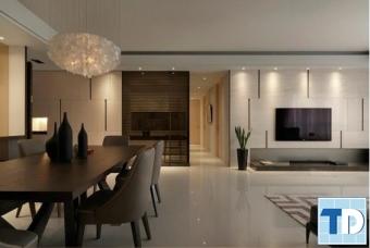 Ý tưởng cho nội thất phòng khách giá rẻ trở nên đẹp và sống động