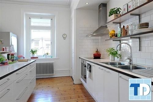 Phòng bếp sang trọng, tiện nghi
