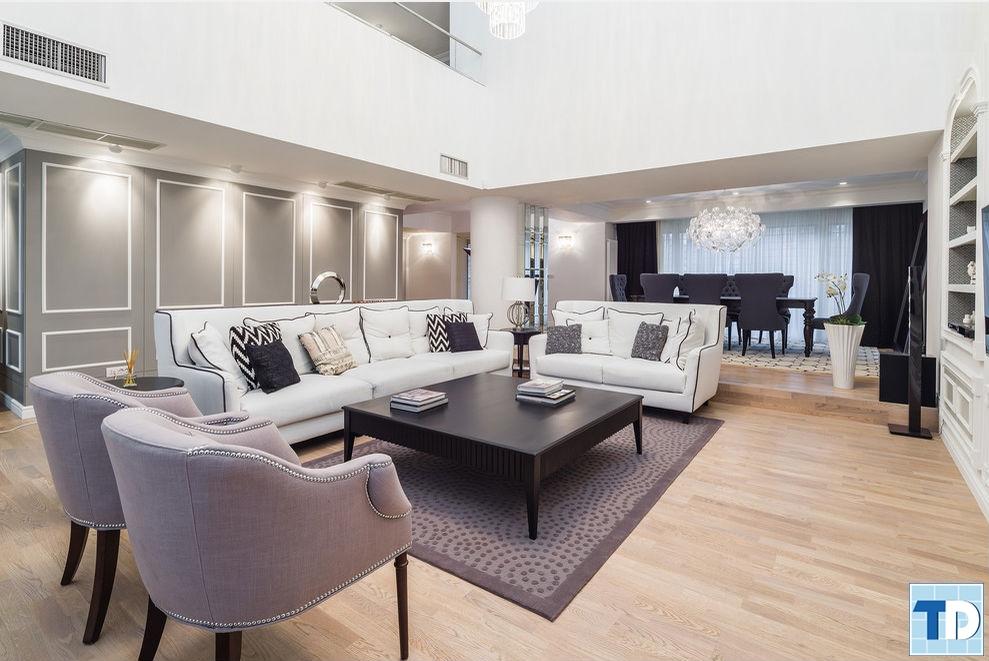 Phong cách tân cổ điển dẫn đầu xu hướng thiết kế nội thất đẳng cấp