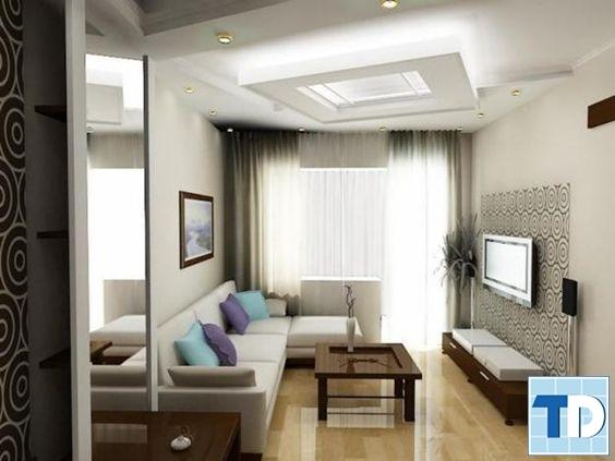Phòng khách nhỏ hẹp
