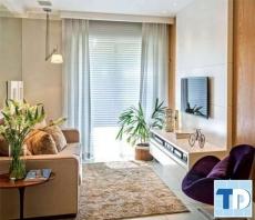 Những mẫu nội thất phòng khách tại Hà Nội sang trọng và đẳng cấp