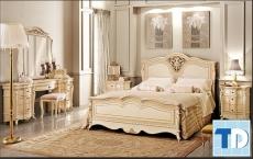 Những mẫu nội thất phòng ngủ tân cổ điển kiều diễm quyến rũ lòng người