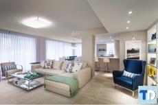 Sáng tạo trong phong cách thiết kế nội thất phòng khách hiện đại