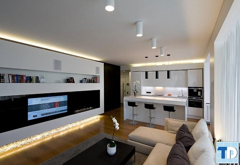 Không gian hiện đại với nội thất cao cấp, tiện nghi