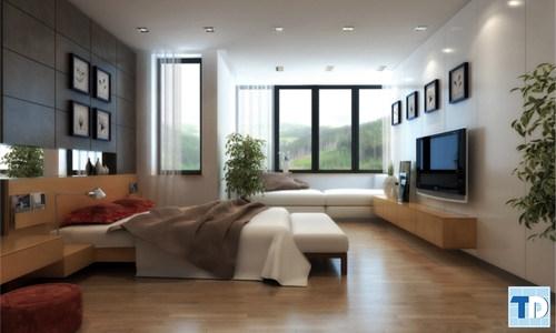 Phòng ngủ cao cấp, tiện nghi