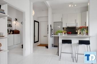 Không gian sang trọng với thiết kế nội thất chung cư diện tích nhỏ