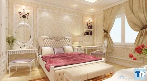 Phòng ngủ tân cổ điển trang nhã