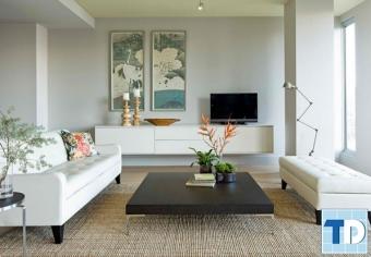 Say đắm với thiết kế nội thất phòng khách nhỏ xinh hiện đại