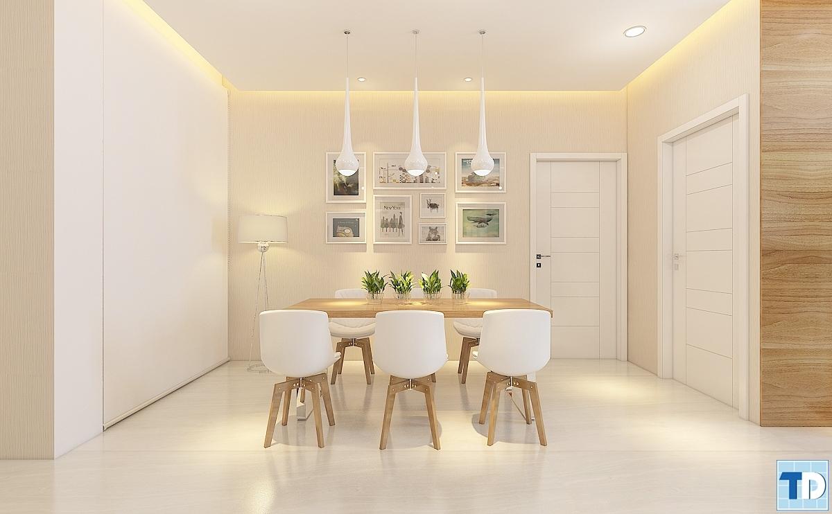 Bộ bàn ăn cao cấp với thiết kế hiện đại