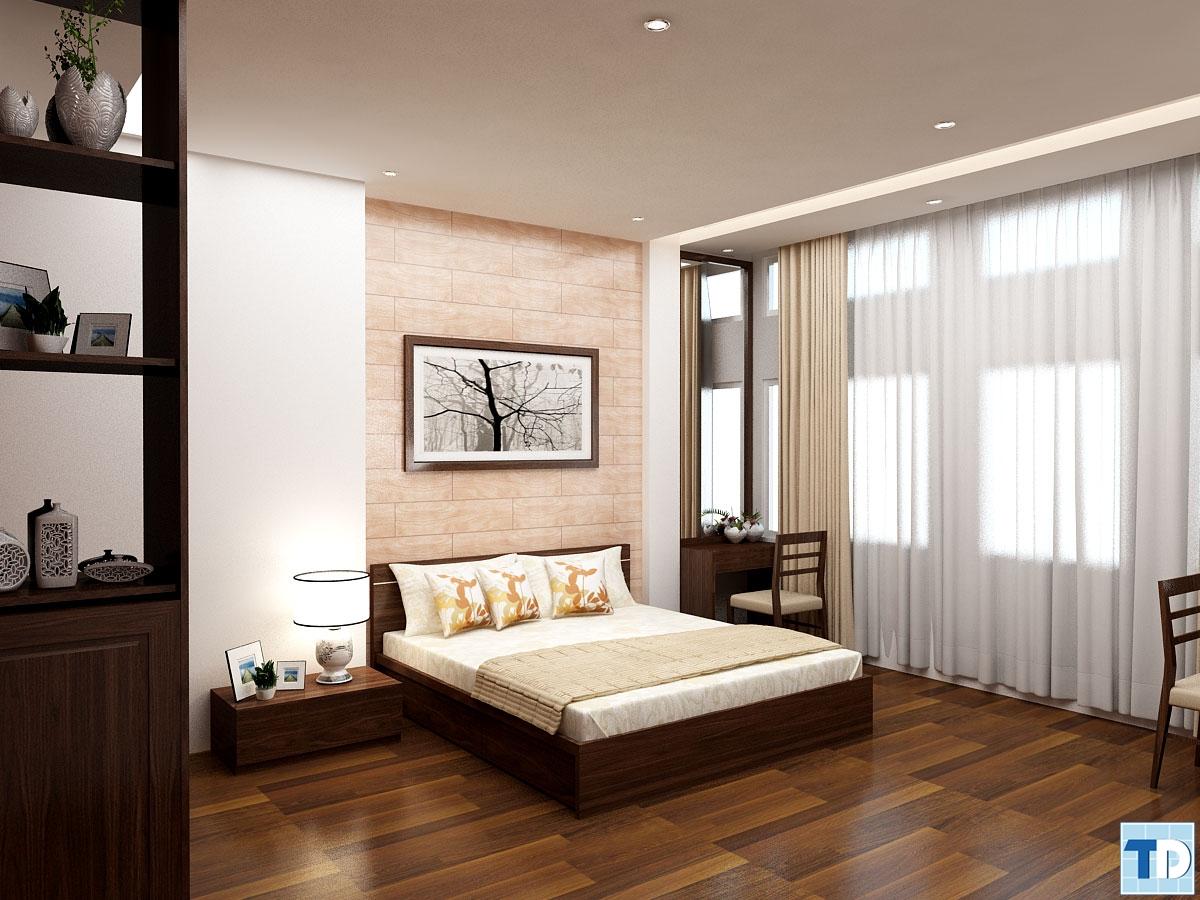 Phòng ngủ nổi bật với những món đồ cao cấp