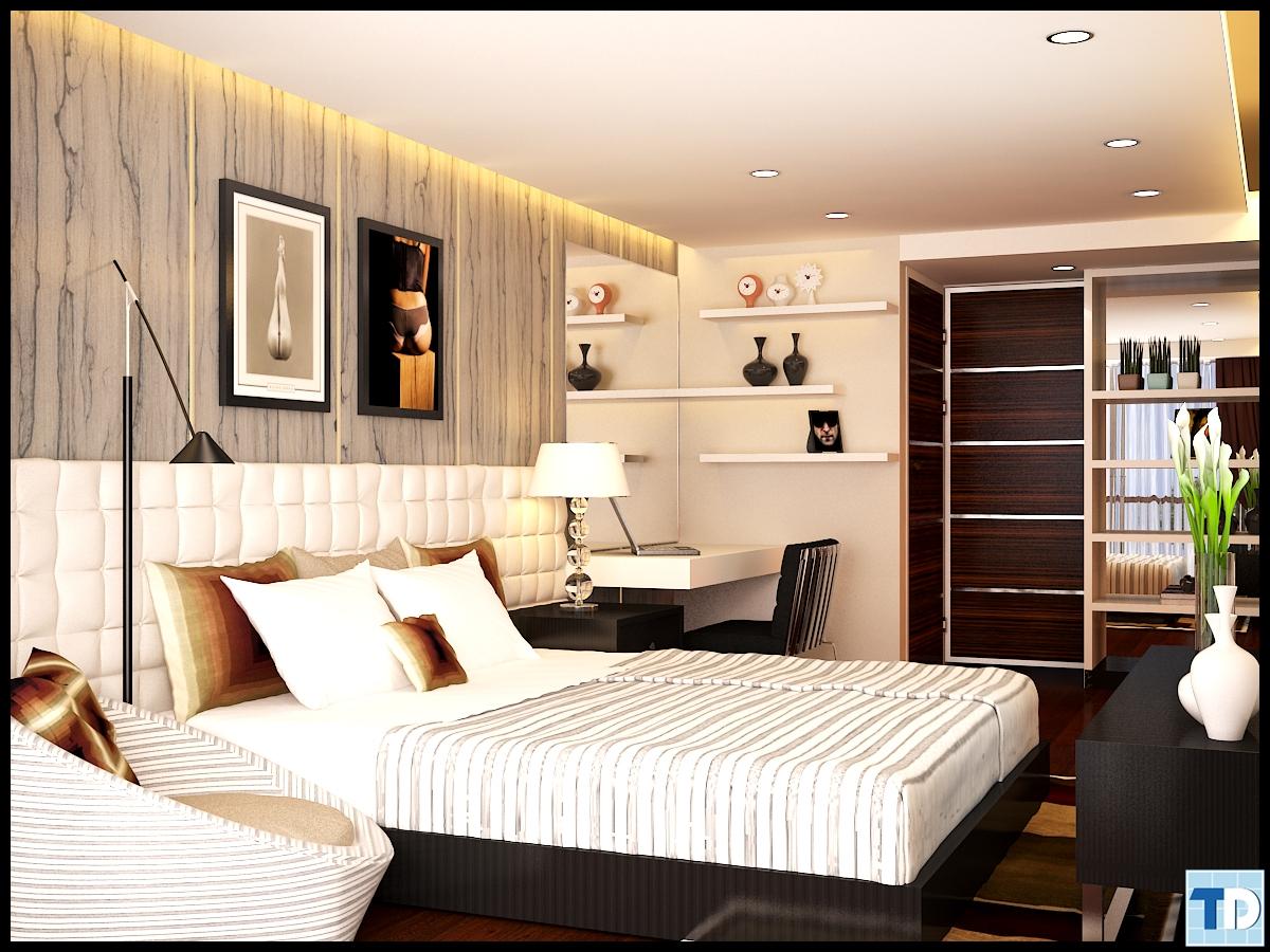 Phòng ngủ sang trọng, tiện nghi