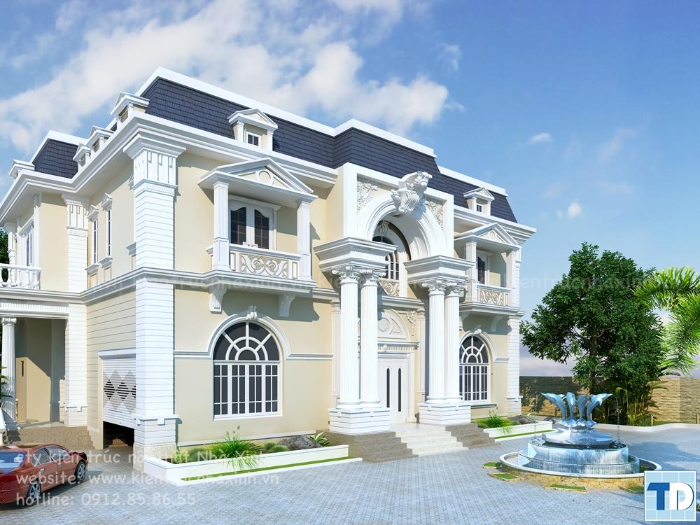 Đặc điểm kiến trúc tân cổ điển