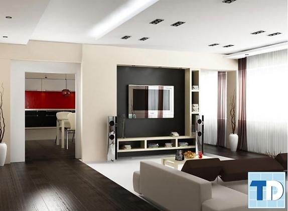 Nội thất nhà chung cư hiện đại