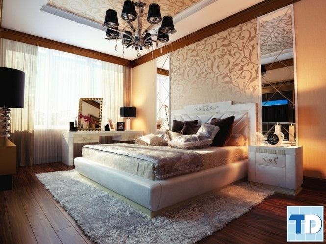 Phòng ngủ ấm cúng, gần gũi